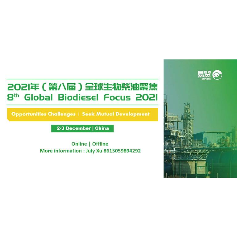 8th Global Biodiesel Focus 2021