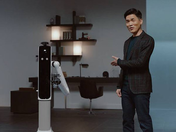 Samsung's New Home Robots Can Clean the House and Pour You A Glass of Wine