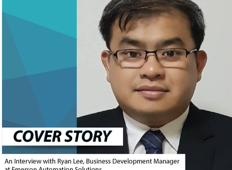 An Interview with Ryan Lee, Business Development Manager at Emerson Automation Solutions