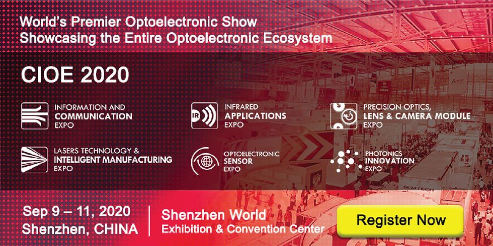 China International Optoelectronic Exposition (CIOE 2020)