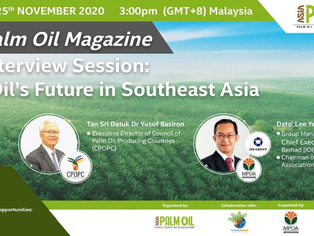 Live Interview Session: Palm Oil's Future in Southeast Asia