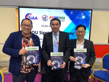 Interview with Mr. Terence Tan from SIAA and Mr. Fanky from APTIKNAS
