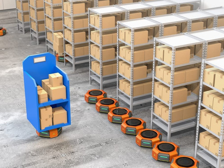 Groceries Enlist Robots for Stocking, Deliveries