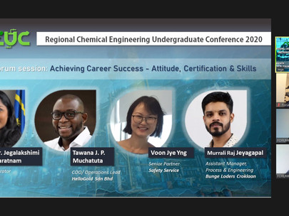 The Regional Chemical Engineering Undergraduate Conference (RCEUC)