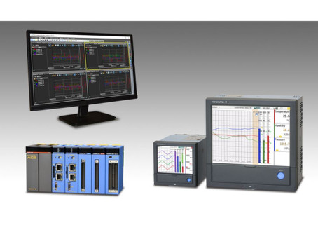 Yokogawa Releases AI-enabled Versions of SMARTDAC+ Paperless Recorders and Data Logging Software