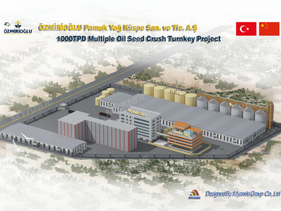 Myande Undertakes 1,000TPD Multiple Oilseeds Crushing Project in Turkey