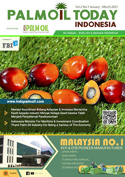Cover Palm Oil Today Indonesia (Jan-Mar