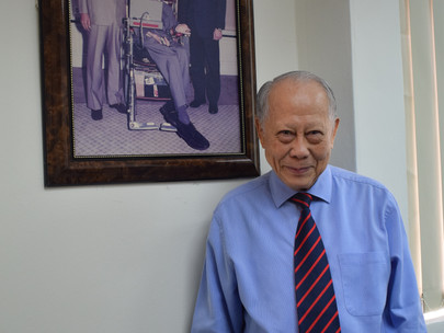 An Interview with Tan Sri Datuk Dr.Augustine Ong, The President of MOSTA