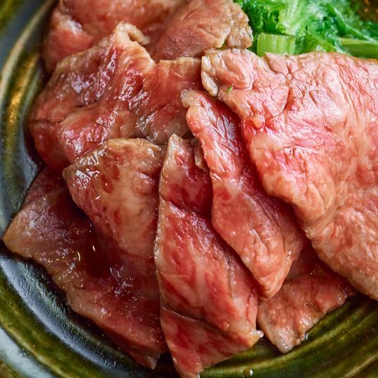 国産牛のすき焼き