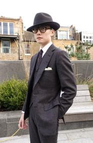 Gray Flannel 3-piece suit
