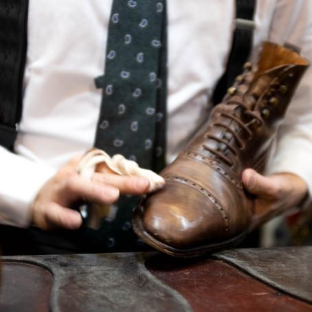 Boot Black Series, Columbus Shoe Polish Manufacturer