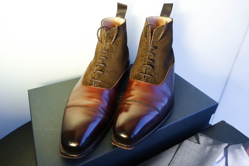 Balmoral boots from Crockett and Jones