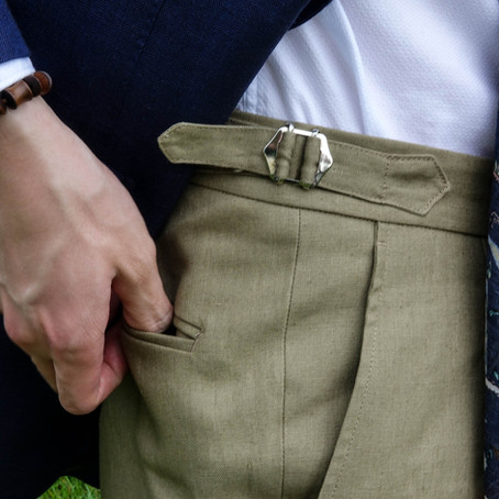 Natalino: Love for High Waisted Trousers