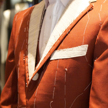 TPR 3 Piece Suit - Second Fitting