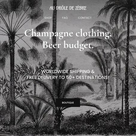 AU DRÔLE DE ZÈBRE: Bordeaux-based second hand seller