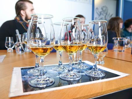 Tasting at Talisker Distillery