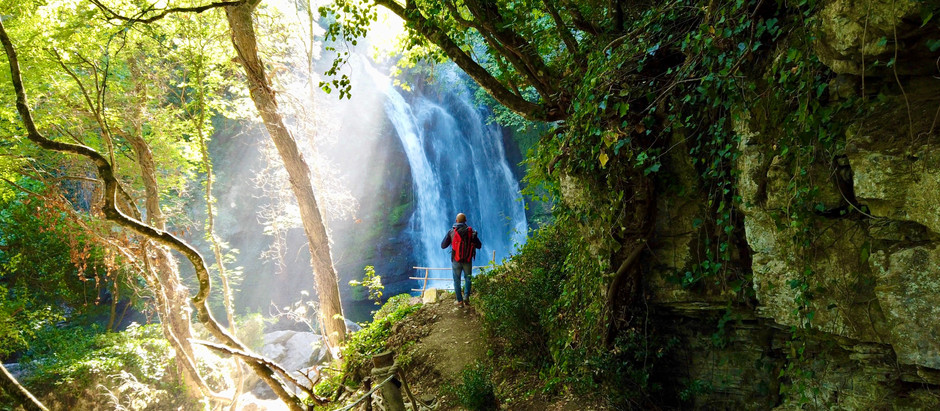 Carpinone, il borgo delle cascate