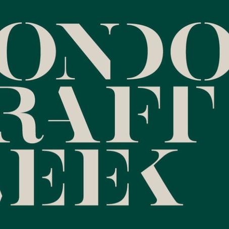 London Craft Week 2019: Places I went