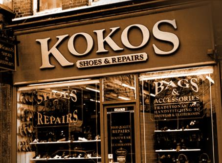 Kokos: shoe repairs in North London