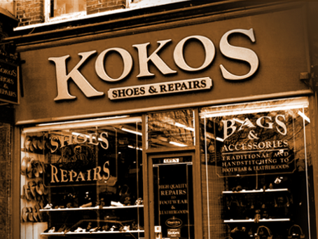 Kokos: shoe repairs in North London