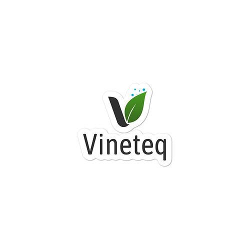 Vineteq Black Logo Sticker