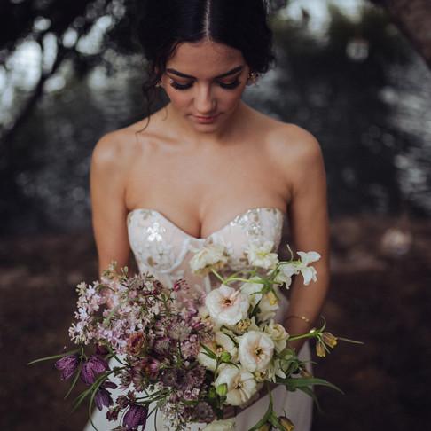 Musa | Editorial de boda en el puente de Triana.