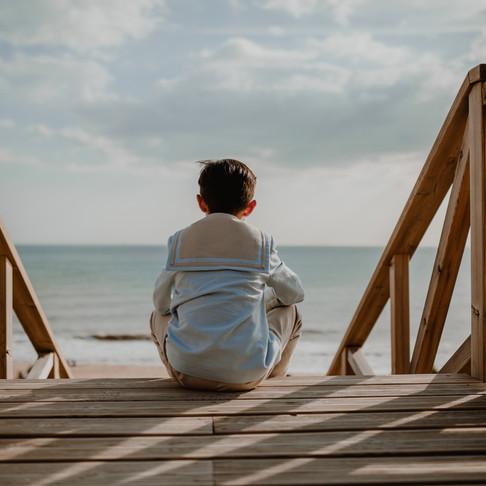 Hugo | Reportaje de comunión en la playa de Mazagón.