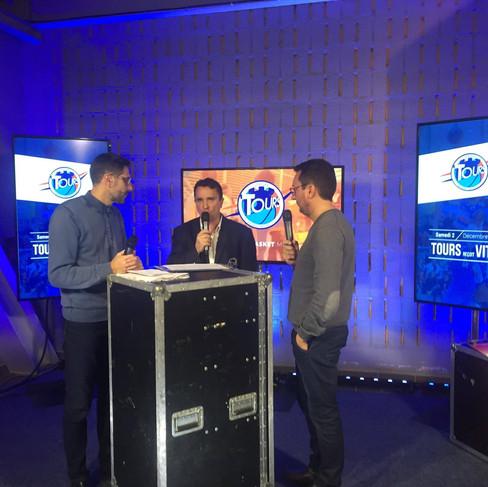 Captation match studio TV Indre et Loire