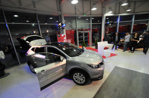 Lancement de la Nissan en Indre et Loire (37)