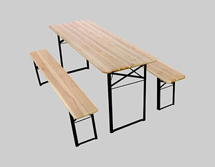 Location table banc en bois Tours 37 Indre-et-Loire