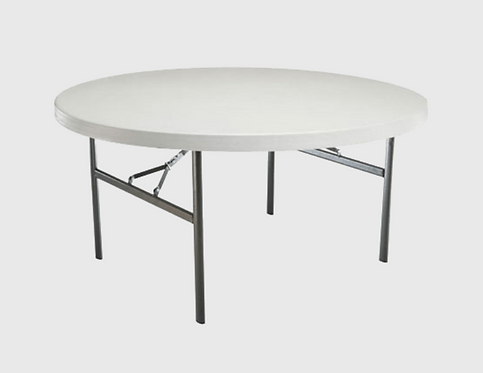 TABLE RONDE PLIANTE 152cm