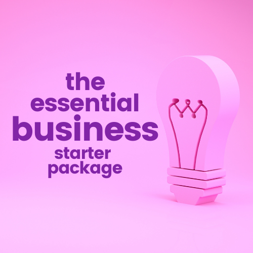the essential business starter package
