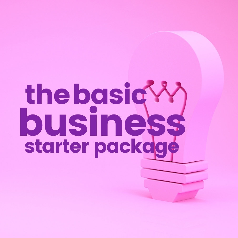 the basic business starter package