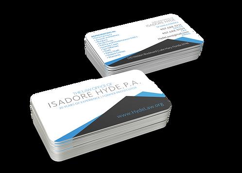 Standard Linen Business Cards