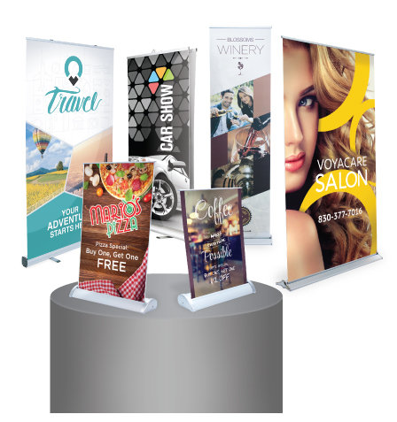 Retractable (Pull Up) Banners