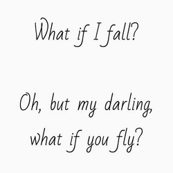 Darling you will fly