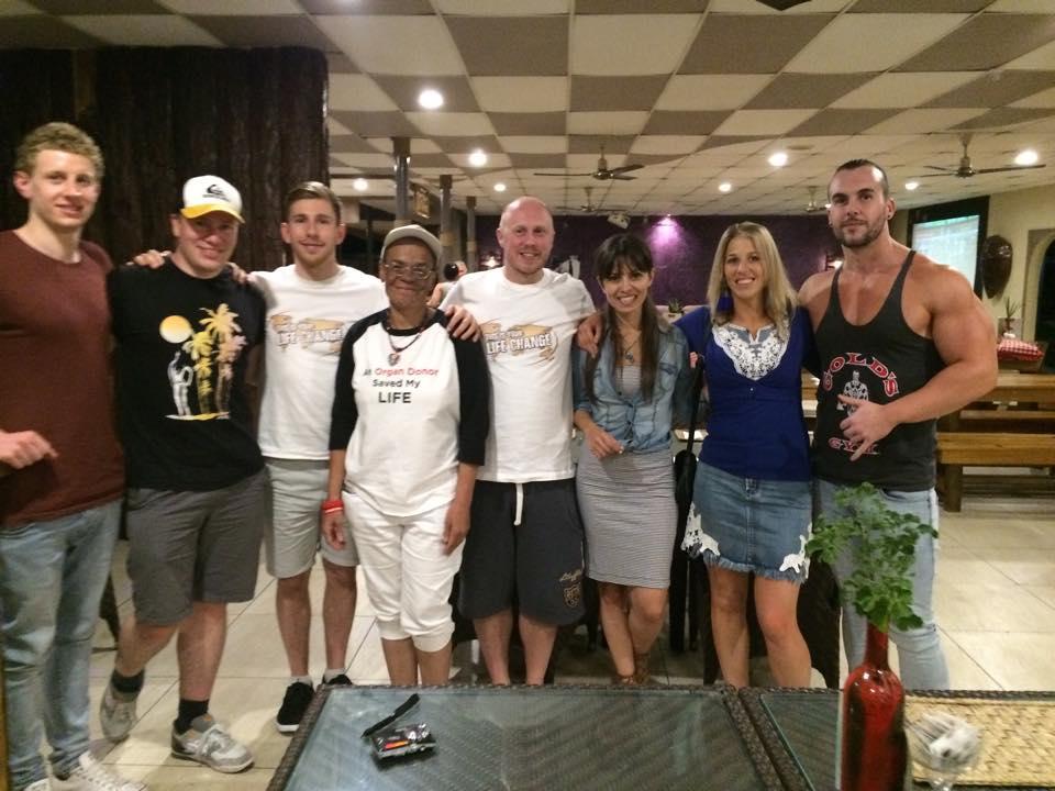 The Fiji crew