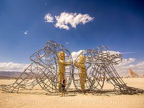 Burning Man festival in Nevada.