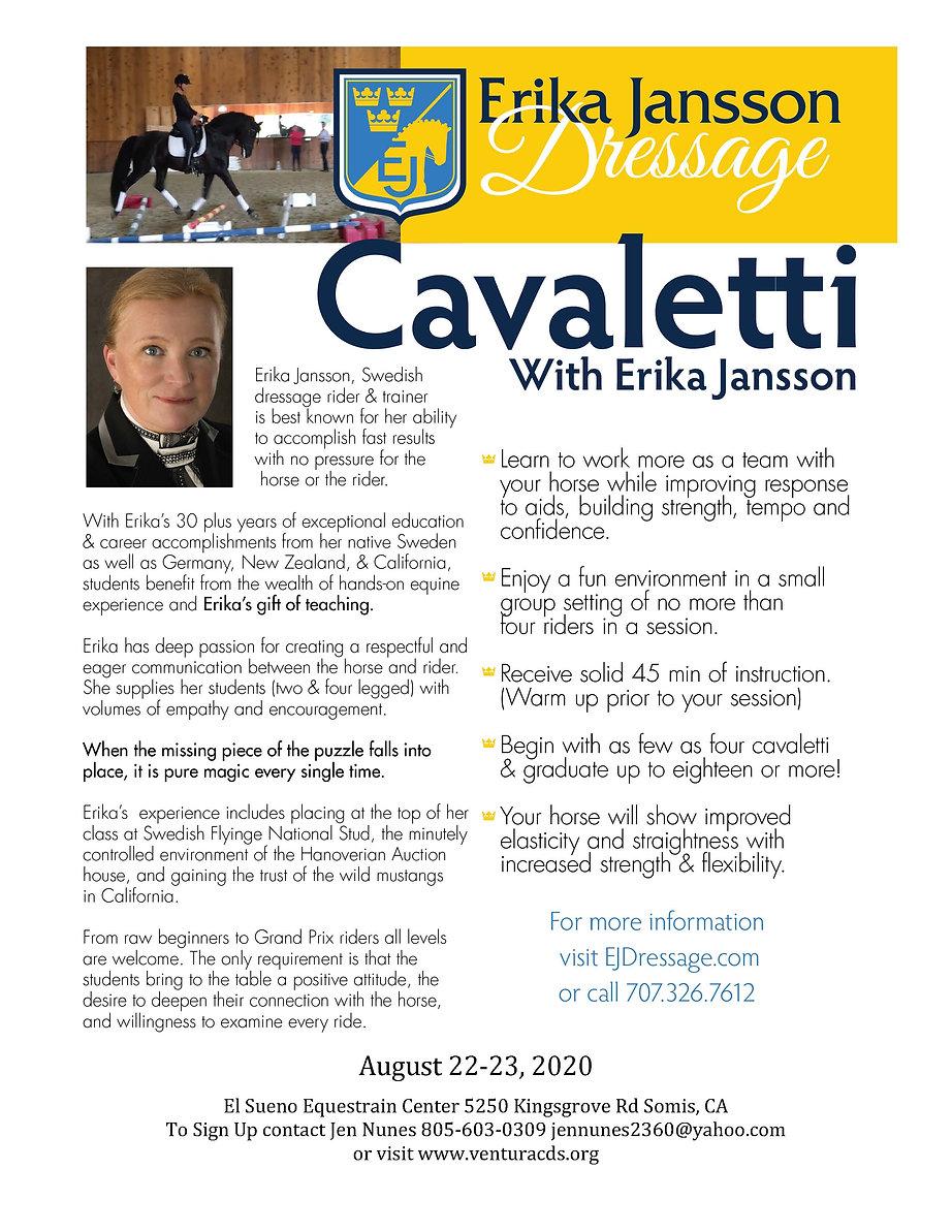 Cavaletti-Clinic-with-Erika-Jansson Augu