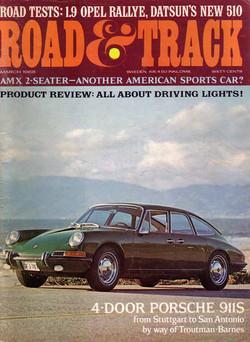 911 Porsche 4 door (1968)