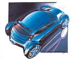 Mini ACV 30 (1995) Design Sketch