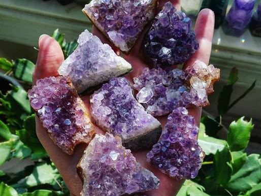Propiedades de los cuarzos, cristales y minerales | Amatista