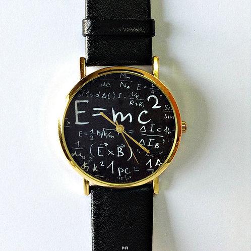 RELOJ E=MC2