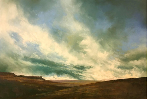 Under Stormy Skies, Longshaw- PRINT