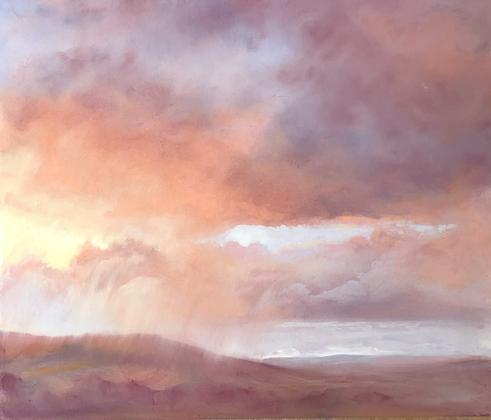 Rain at Sunset