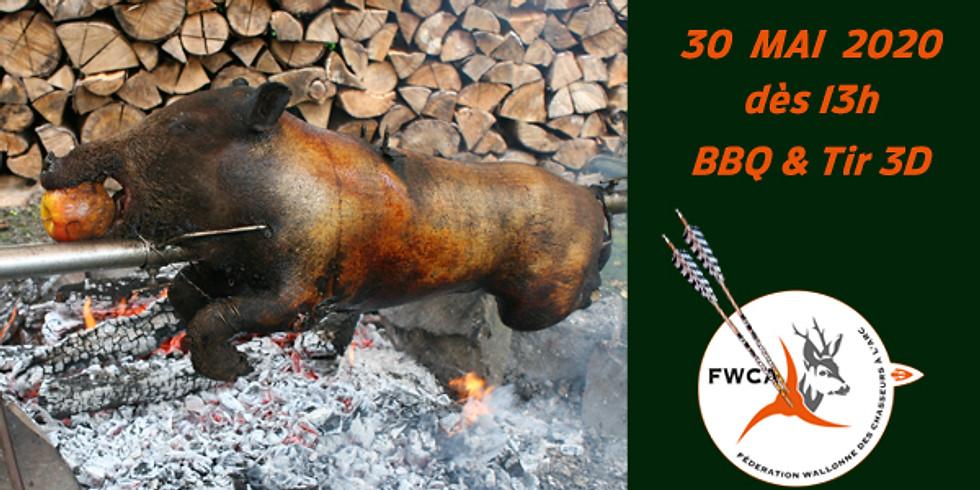 FWCA - BBQ avec sanglier à la broche & Tir 3D 2020