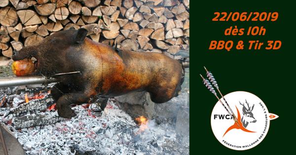 découvrir les dernières tendances magasin vente la plus chaude FWCA - BBQ avec sanglier à la broche & Tir 3D 2019
