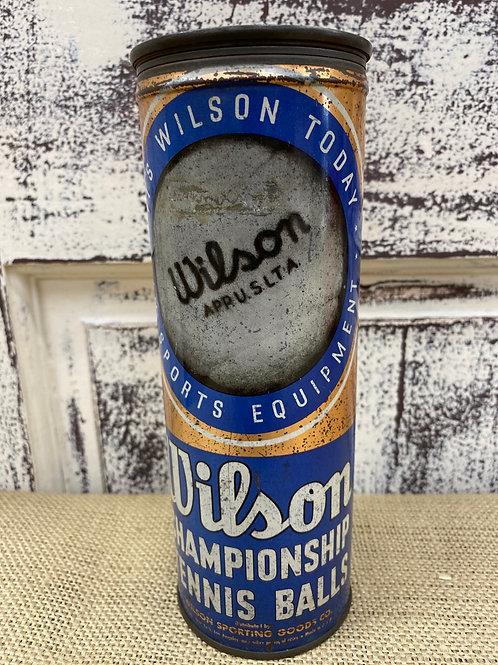 Wilson Tennis Balls Tin