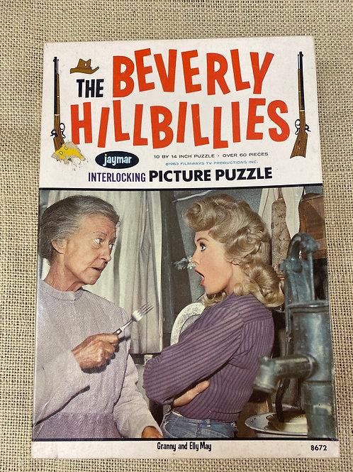 1963 Beverly Hillbillies Puzzle