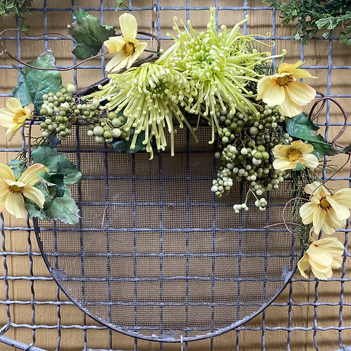 Handmade Floral Wreath